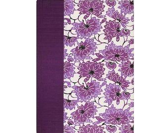Journal Blank Paper Plum Lotus
