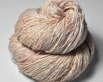 Blushing maiden - Tussah Silk Fingering Yarn