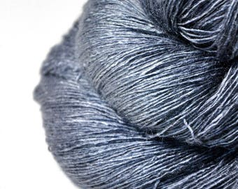 Gnatcatcher flying too high - Tussah Silk Lace Yarn