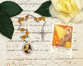 St. Hildegard of Bingen Unbreakable Catholic Chaplet - Mystic and Doctor of the Church - Writer, Visionary Artist, Music Composer