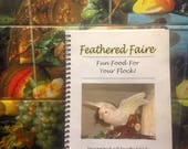 Feathered Faire parrot bird cook book