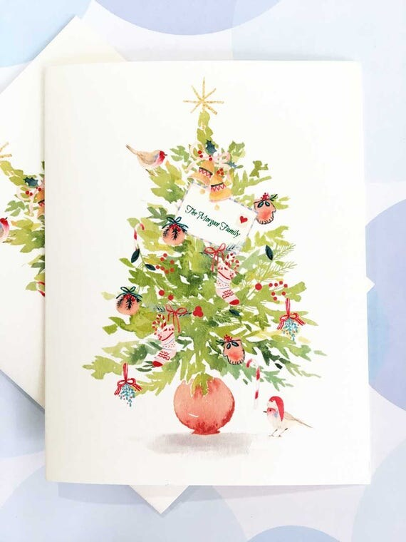 Personalized Christmas Card Custom Christmas Card Christmas