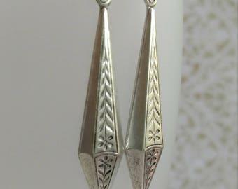 Art Deco Earrings - Downton Abbey Style Jewelry - Art Deco Jewelry - Art Nouveau Earrings - Gift for Her - Miss Fisher - Womens Jewelry