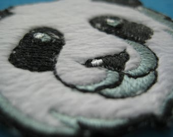 Iron-on Patch Panda 1.9 inch