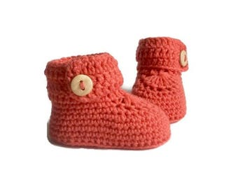 Girls Baby Booties