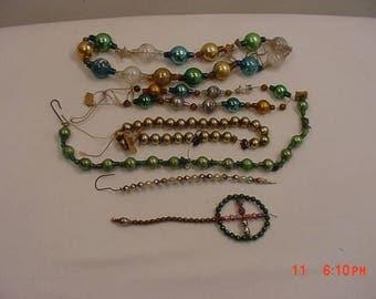 Vintage Mercury Glass Bead Decorations  17 - 1172