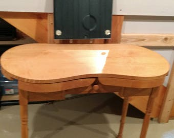 Vintage Kidney Shaped Vanity Table Local Pick Up Only