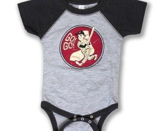 Go Go Baseball Onesie - Infant