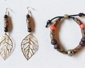 Fall Earring and Bracelet...