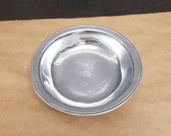 Vintage Pewter Bowl