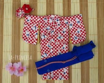 La-Princesa JAPAN Kimono / Yukata Outfit for Blythe (No.Blythe_Kimono004)