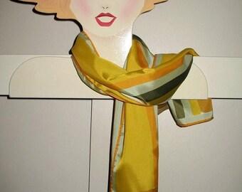 Vintage 60s Lady Bug Vera Geometric Bauhaus Design  scarf