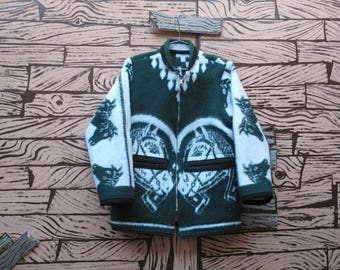 HAND MADE Lucky Horse Blanket Jacket