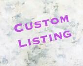 Custom for Christian