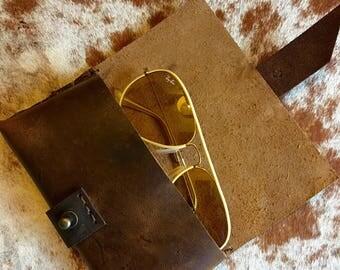 Eyeglass holder, Eyewear accessories, Leather sunglasses case, Cool eyeglass cases, Sunglasses pouch, Sunglass holder, Leather eyeglass case