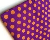 Kaffe Fassett Spot Purple Fabric, GP70, OOP, HTF