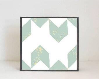 boho nursery art, geometric nursery art- baby boy nursery art- arrows- geometric prints,  southwest nursery- kids playroom-  redtilestudio