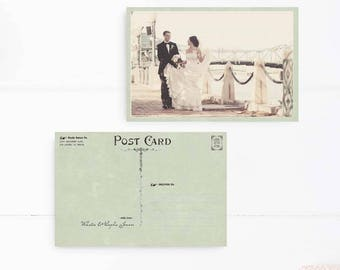 """Rustic Wedding Thank You Cards, Wedding Thank You Postcards, Thank you notes, Wedding Stationery - the """"Sophia 1"""""""