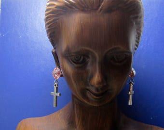 Little Cross Earrings