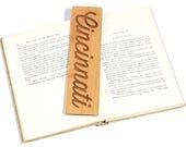 Your City / Custom Wood Bookmark