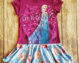 Elsa dress ~ 5T w/Free Shipping