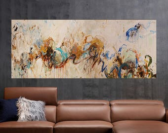 72''expressionist abstract,abstract expressionist art  large painting,abstract modern abstract art ,large wall art, contemporary art