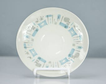 Vintage Blue Heaven by Royal China, Saucer