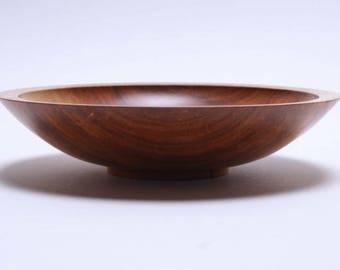 """Myrtle Wooden Bowl #1693 6 3/4"""" X 1 1/2""""  Wooden Bowls, wood bowls, hand turned wood bowl, food safe bowls"""