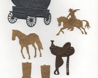 Set of cutouts wild west No. 134