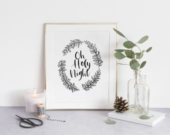 Oh Holy Night Printable