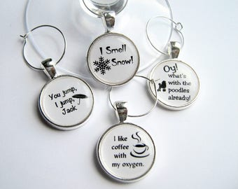 Gilmore Girls Quotes..Wine Charms