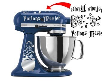 Potion's Master KitchenAid vinyl decal stickers