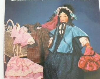 Godey Lady Cloth Doll Making Book