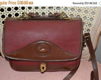Sizzling Summer Sale Dooney & Bourke~Dooney Bag~ Dooney~Dooney Shoulder Bag~ Burgundy Dooney USA Made Cross Body
