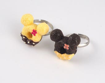 Mickey Mouse Donut Rings