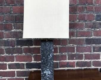 Midcentury Modern Marble Table Lamp