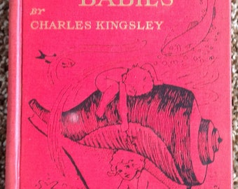 The Water Babies Charles Kingsley 8 color plates 1917