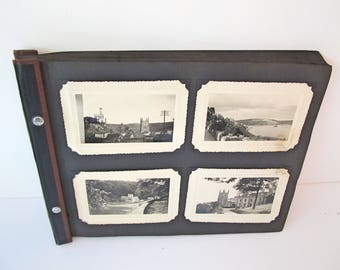 Vintage Photo Pages - European Vacation Pictures from early 1900's - Britain Photos - Ocean Cruise to England