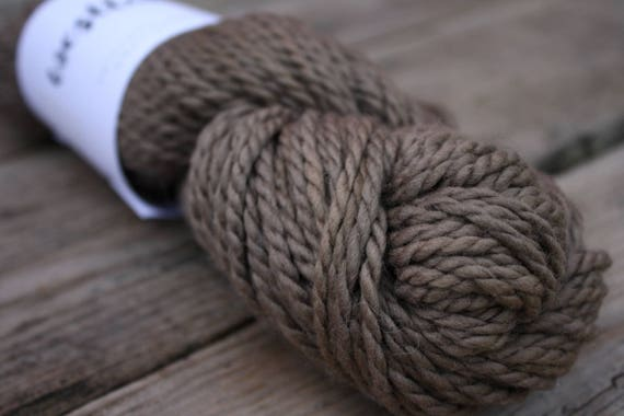 Earthy Natural Wool, Merino wool hand dyed with sumac berries