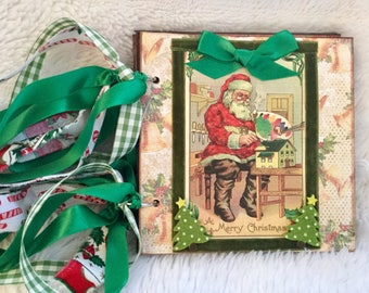 Vintage Christmas Album - Santa's Workshop #686