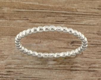 Bead Toe Ring - Silver Toe Ring - Toering - Midi Ring - Gold Toe Ring - Rose Toe Ring - Toe Ring - Stacking Ring - Minimal Ring - Toerings