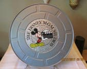 Vintage Disney MGM Studios Movie Reel Film Candy Tin,  Mickey Mouse Tin, Tin Collector, Storage Container