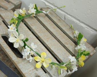 Artificial Floral Crown