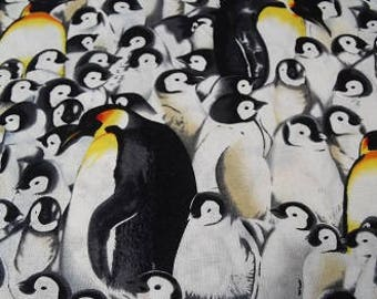 Penguin fabric s/h included