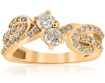 Oval Pink Sapphire Diamond Ring 18k White Gold Micro Pave Diamond Engagement Sapphire Pink Ring 3 Stone Petal Pear Shape VVS
