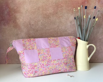 Large project bag Liberty patchwork