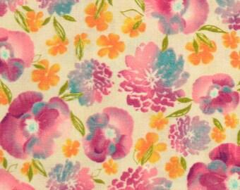 Robert Kaufman Fabric, Mimosa from Robert Kaufman Fabrics, 10367-192 Spring Pansies