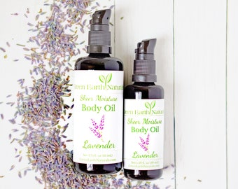 Lavender Organic Moisturizing Body Oil to Repair and Heal the Skin