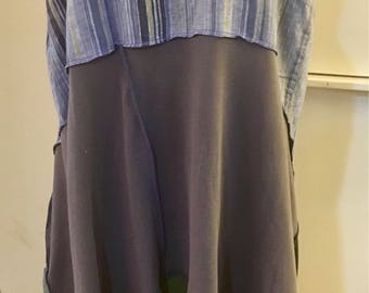 Linen and Knits! Large to extra large