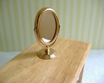 Dollhouse Miniature Mirror - For Barbie or 1:12 Scale
